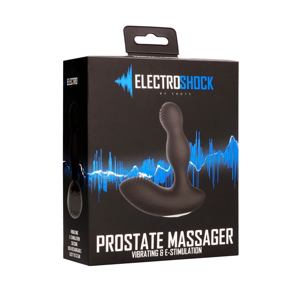 Stimulateur Prostatique E-Stimulation Prostate Massager