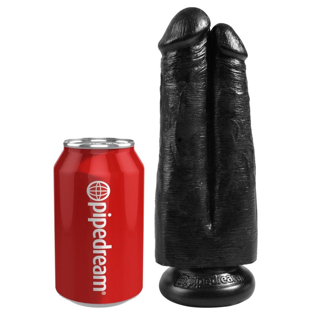 Double Dildo 17,8 cm Two Cocks King Cock