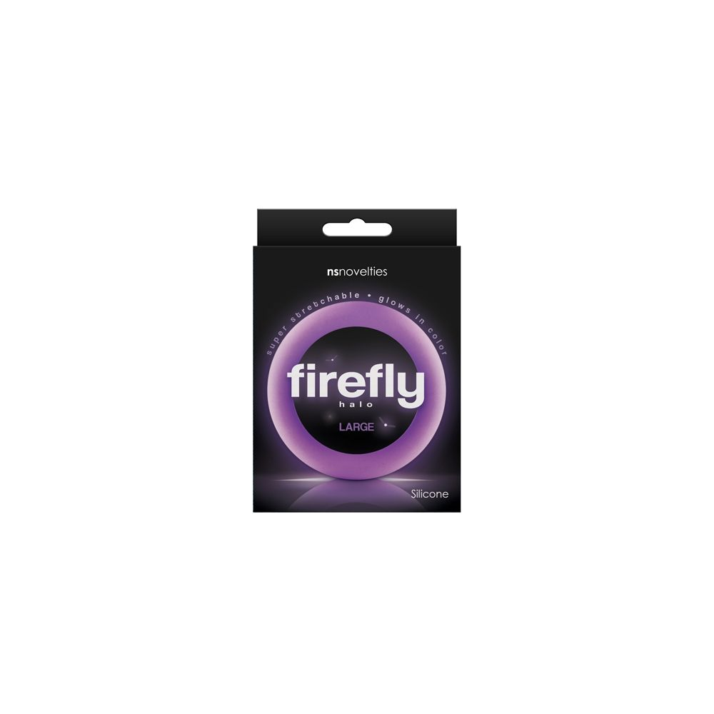Cockring Phosphorescent Firefly Halo Large