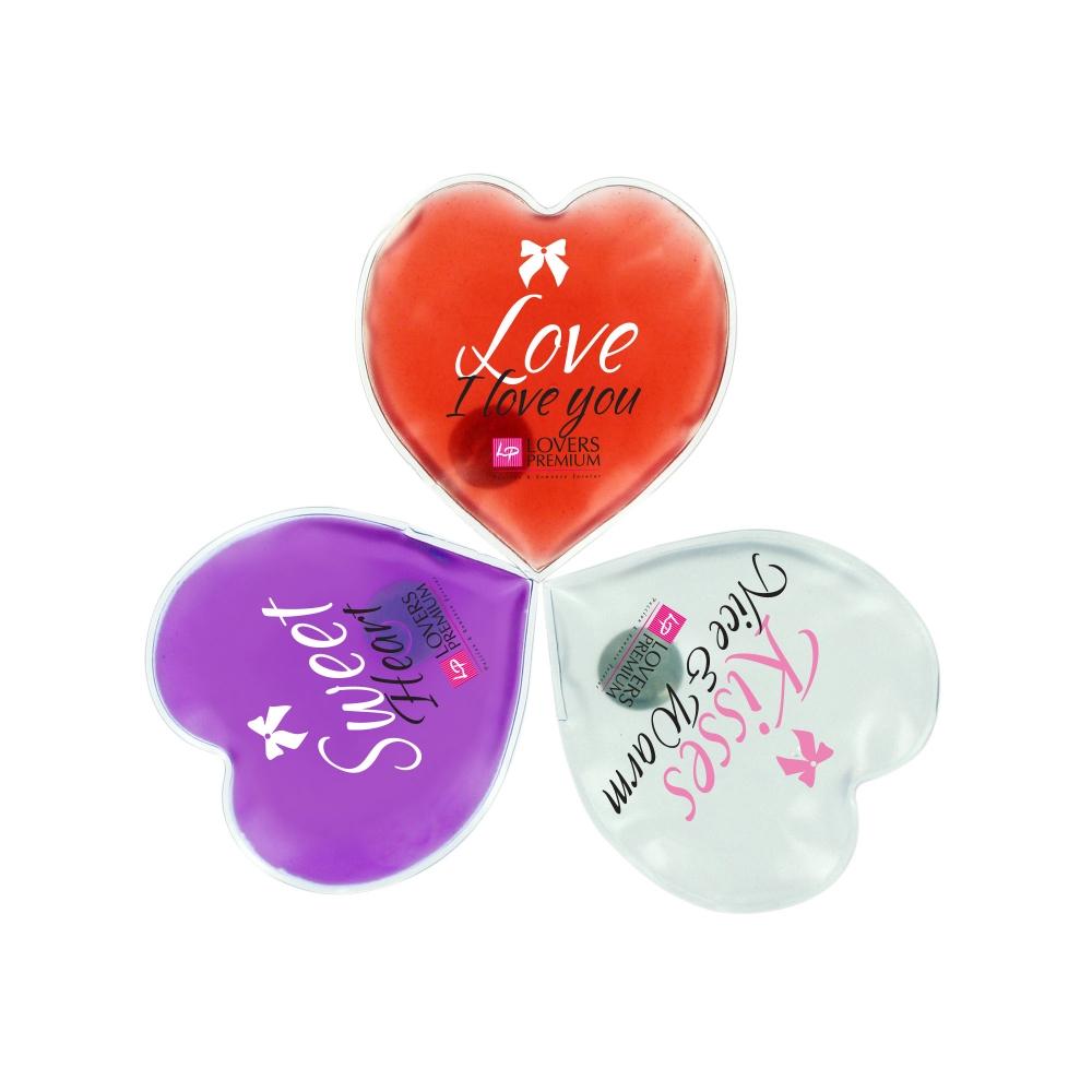 Coeurs de Massage Chauffants Pack de 3