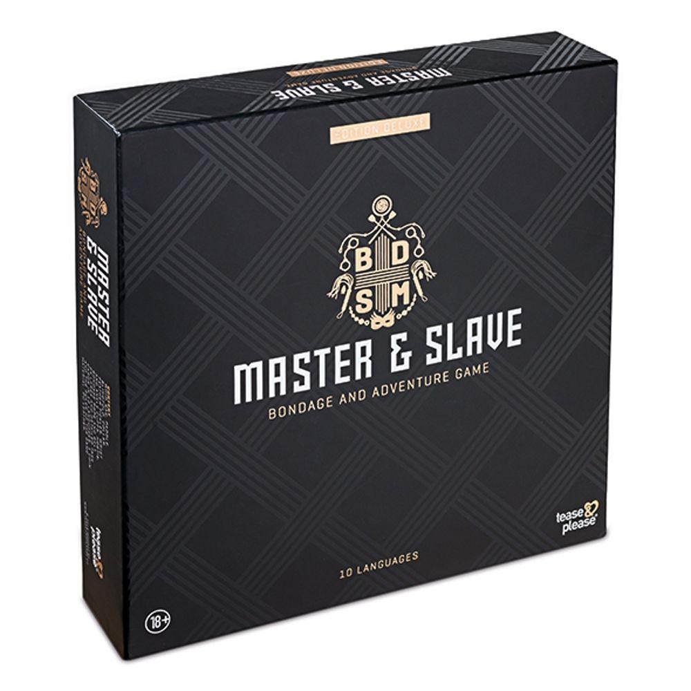 Jeu de Bondage Master & Slave Edition Deluxe