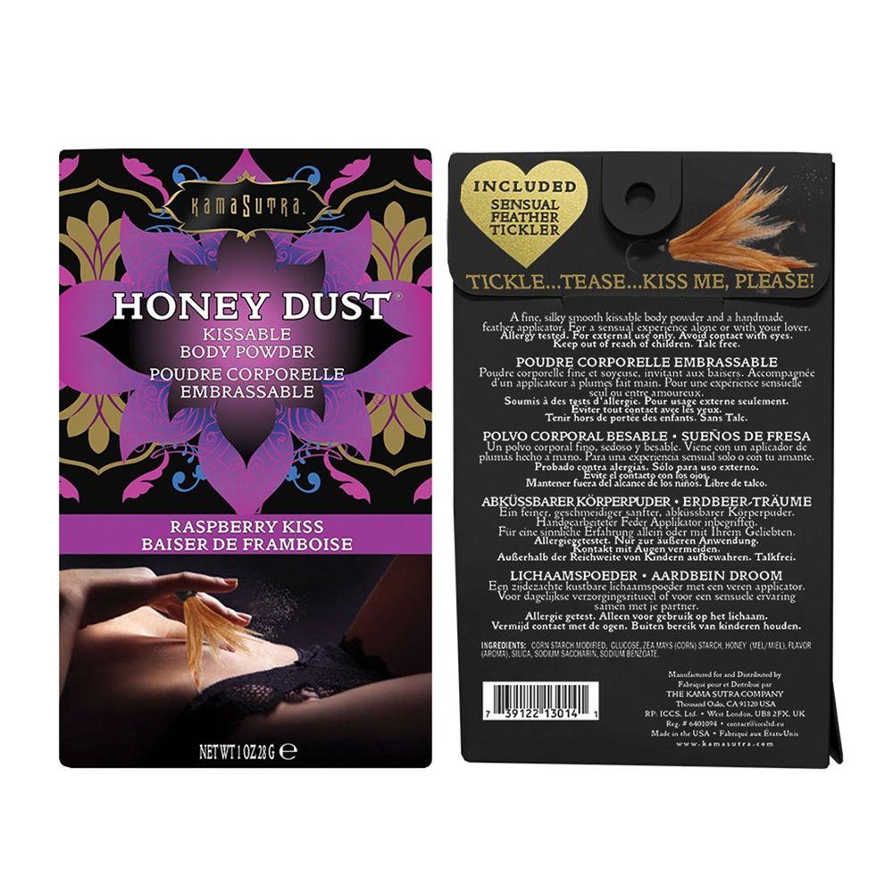 Kama Sutra Honey Dust Raspberry Kiss 28 g