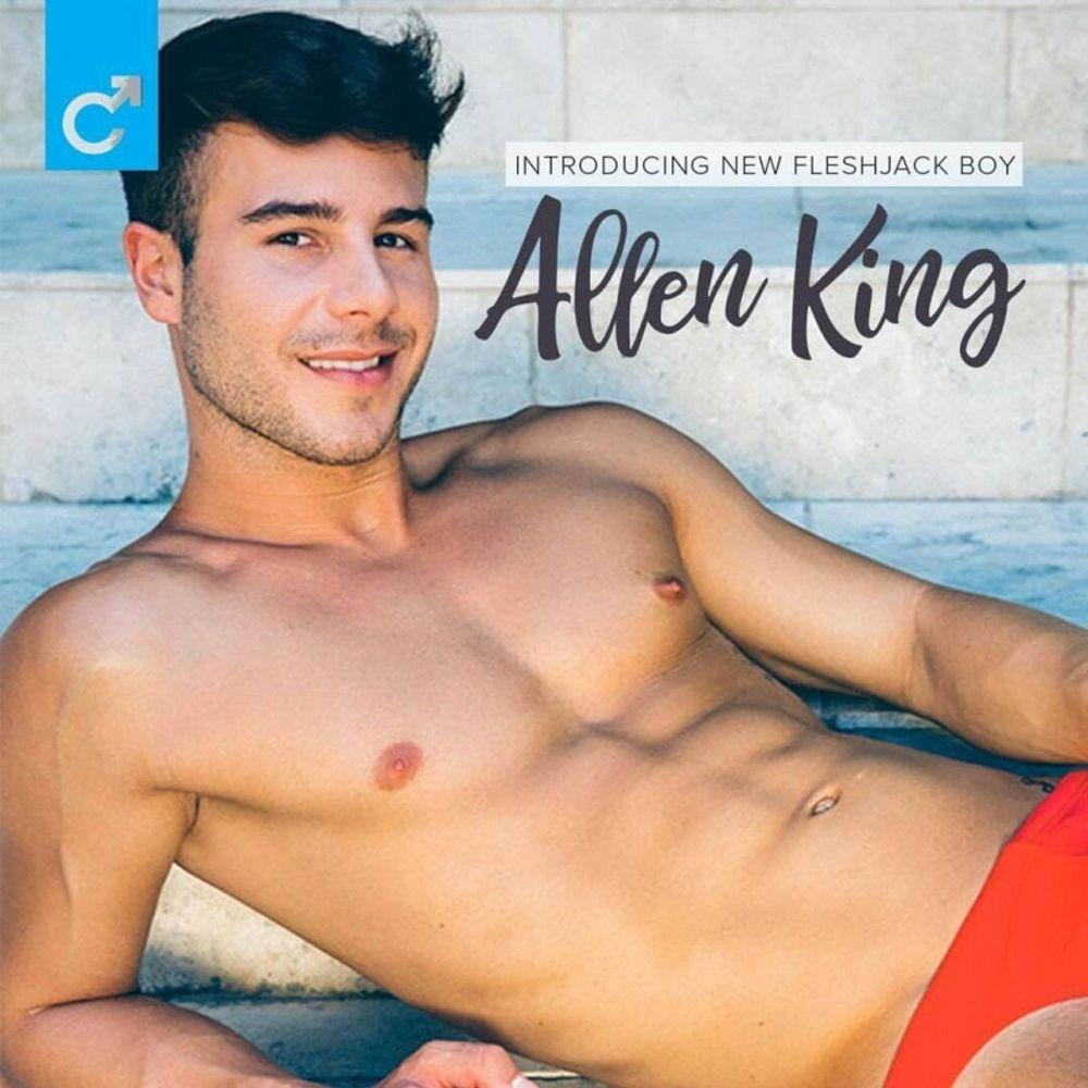Masturbateur Allen King Anus Majestic