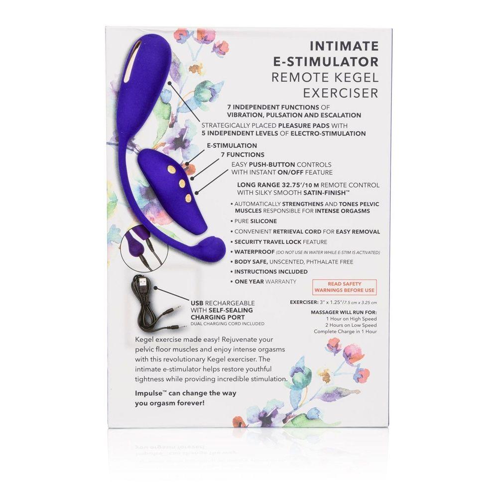 CalExotics Impulse Intimate E-Stimulator Remote Kegel Exerciser