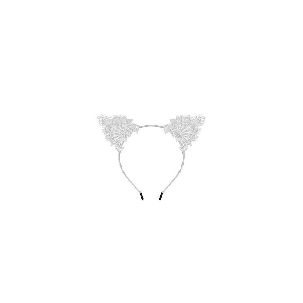 Serre-Tête Oreilles de Chat Dentelle