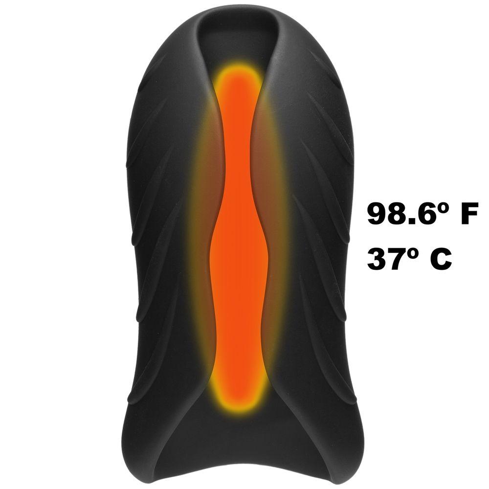 Masturbateur Chauffant OptiMALE SecondSKYN Warming Stroker