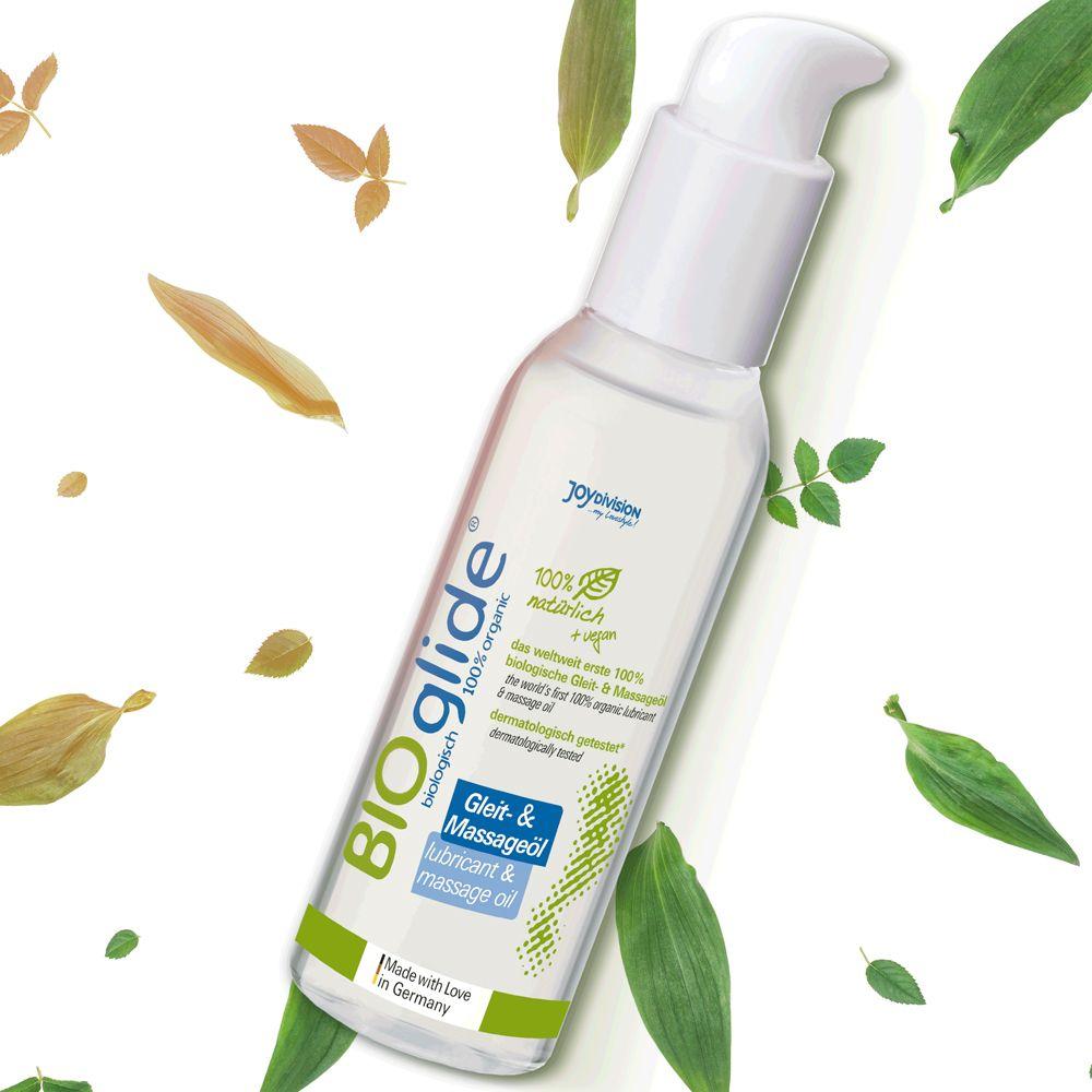 Lubrifiant et Huile de Massage Eau BIOglide Neutre 125 ml