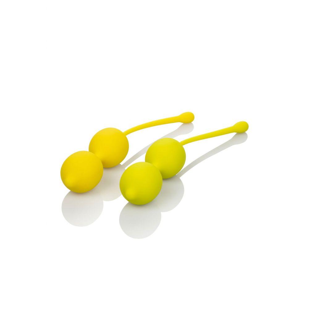 Kit Boules de Geisha Kegel Training Set Lemon