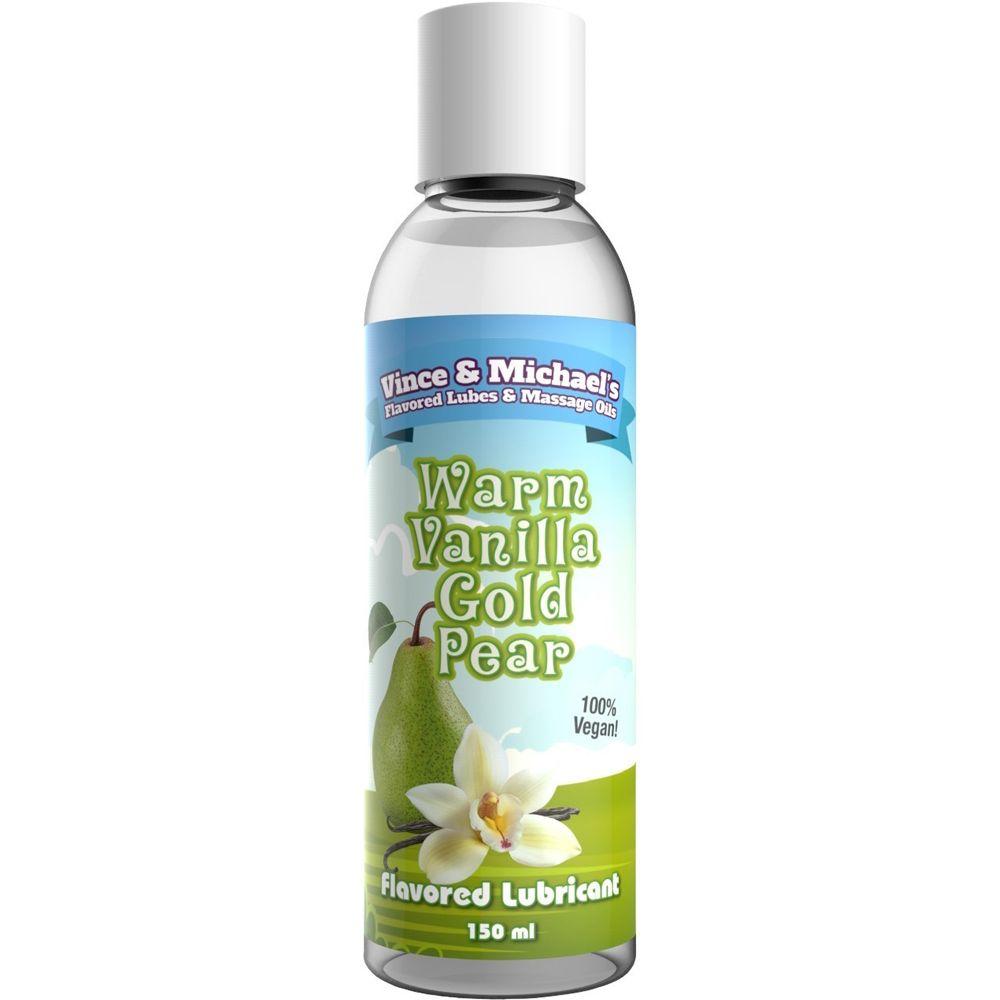 Lubrifiant Eau Gourmand Vanille & Poire 150 ml
