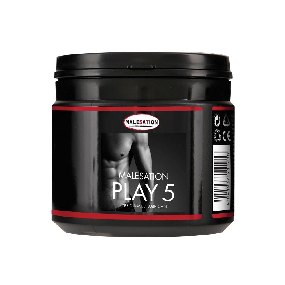 Lubrifiant Anal Hybride PLAY 5 500 ml