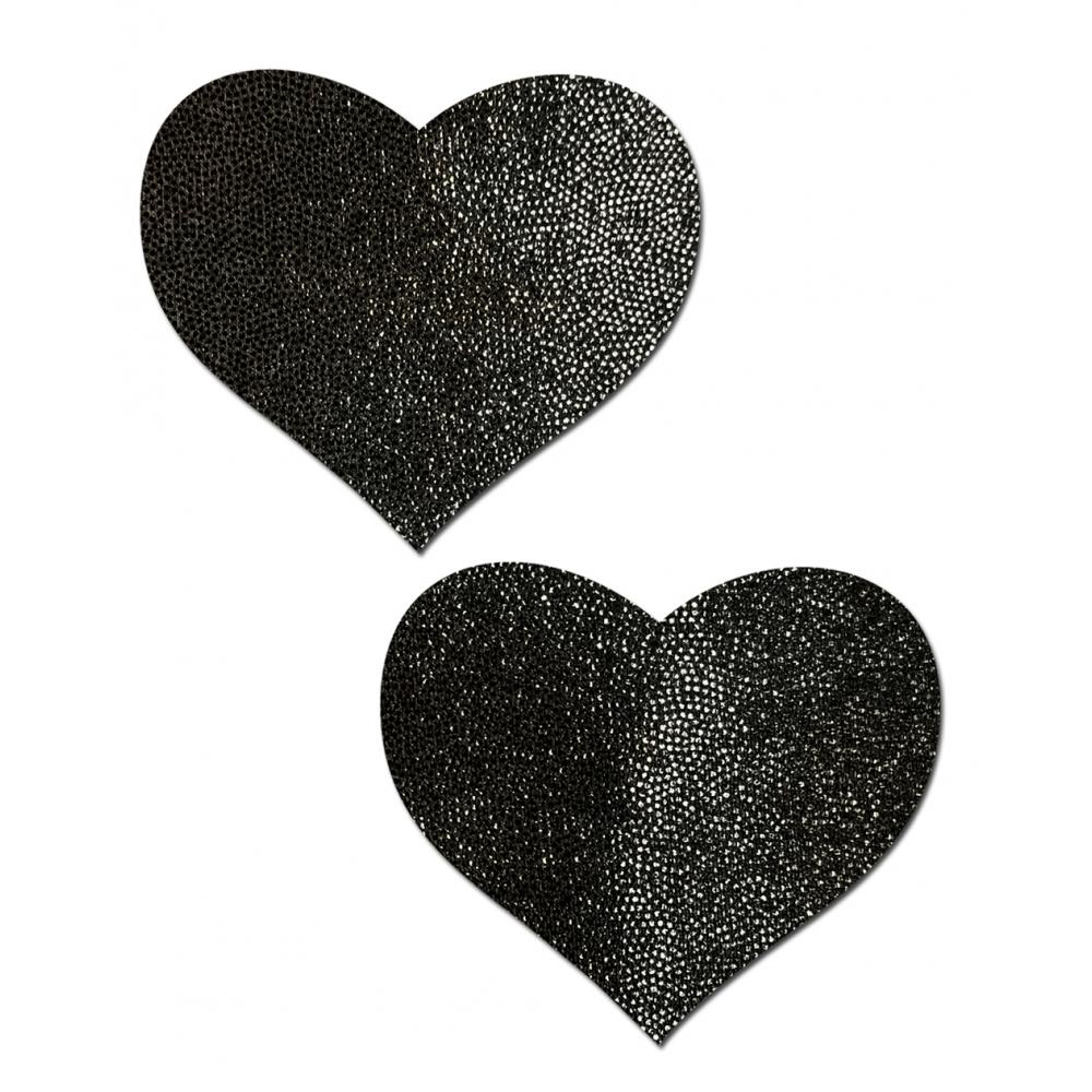 Caches-Seins Everyday Cœur Noir