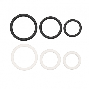 Kit de 3 Cockrings Rubber Ring