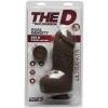 Dildo avec Testicules Fat D 20,3 cm Dual Density The D