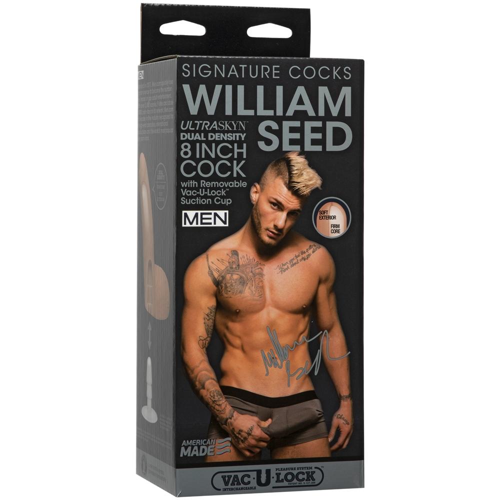 Dildo Vac-U-Lock Signature Cocks William Seed