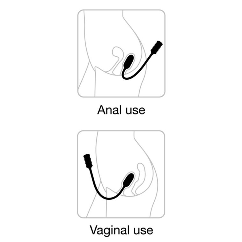 Stimulateur Vaginal & Anal Télécommandé Deep Explorer