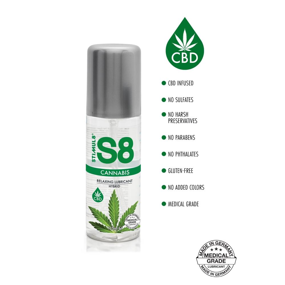 Lubrifiant Relaxant S8 Cannabis 125 ml