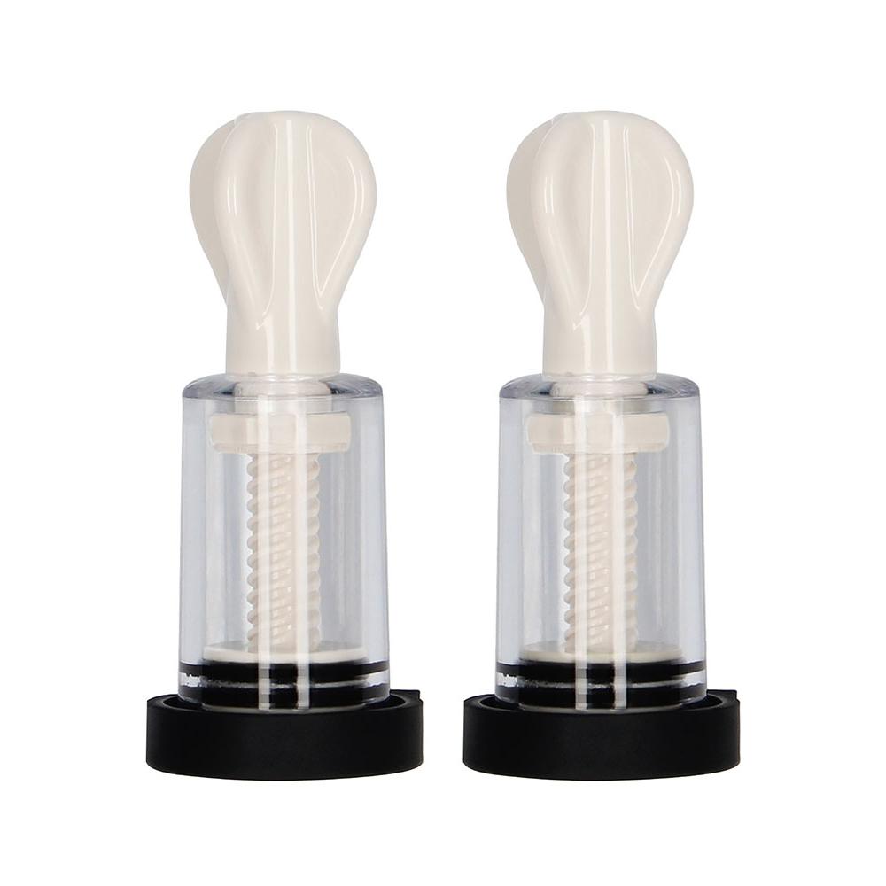 Pompes à Tétons E-Stim Electro Nipple Suckers