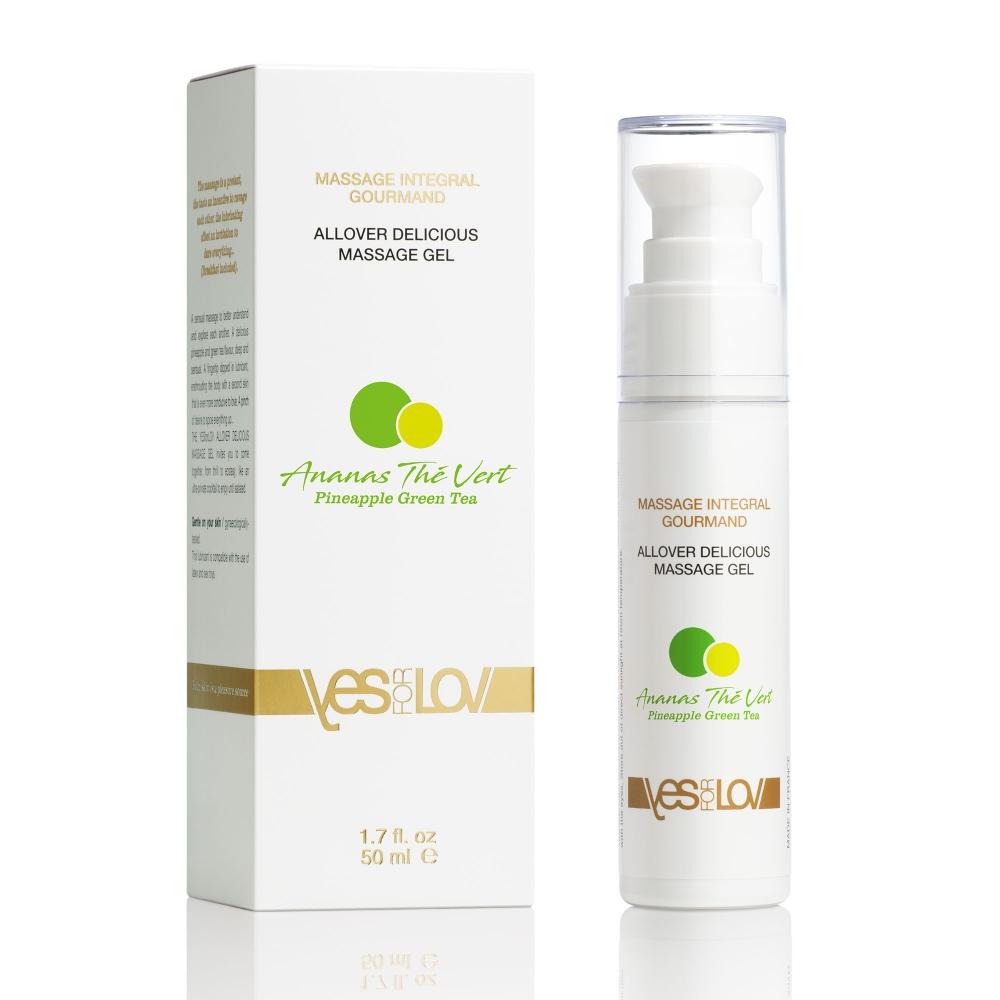 Massage Intégral Gourmand Ananas Thé Vert 50 ml