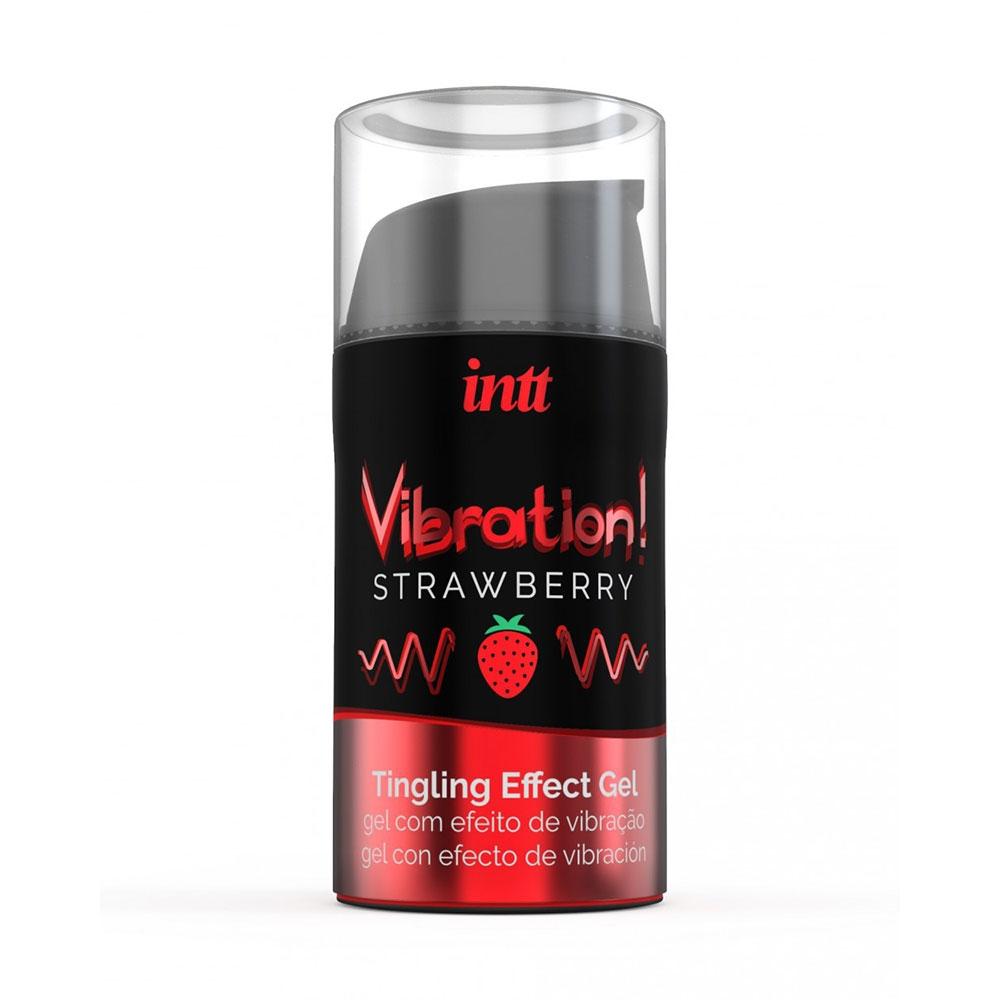 Gel Embrassable Effet Vibrant Strawberry Vibration!