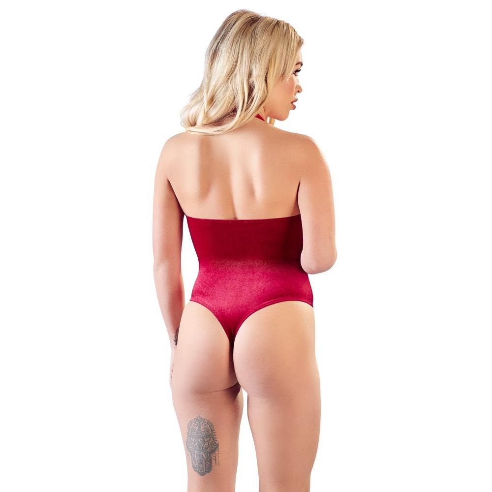 Body Dentelle & Velours Rouge