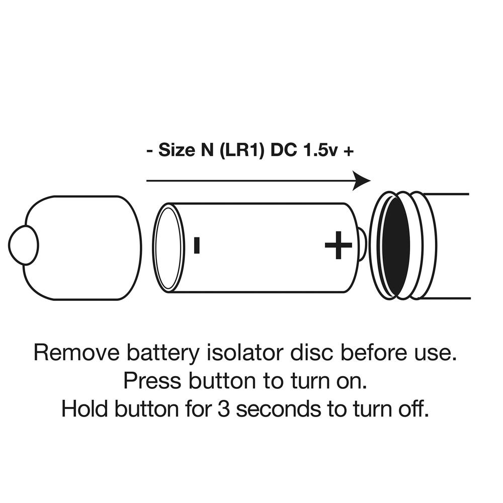 Stimulateur Bullet RO-80 mm 1 Vitesse