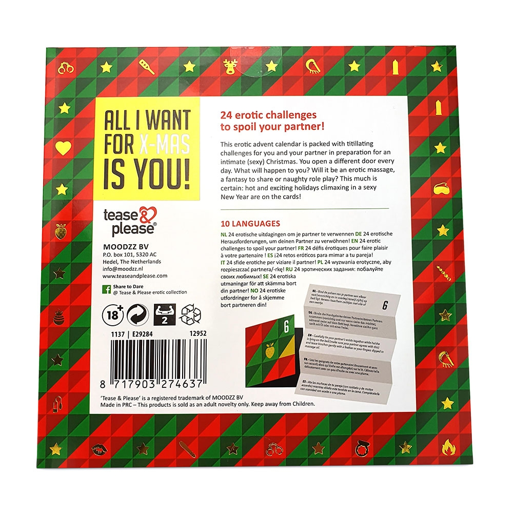 Calendrier de l'Avent All I Want For X-Mas Is You!