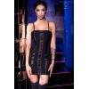 Robe Bustier CR4301 Noir