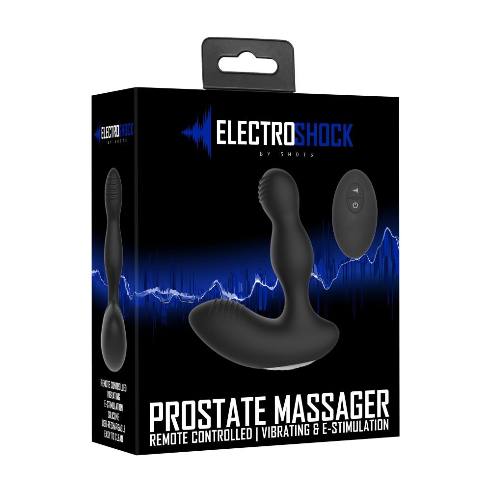 Stimulateur Prostatique Télécommandé E-Stim & Vibrating Prostate Massager