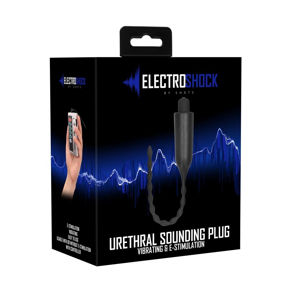 Plug à Urètre Vibrant E-Stim Urethral Sounding Plug