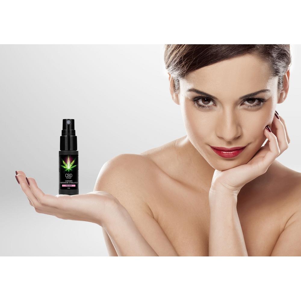 Parfum aux Phéromones pour Femme CBD Infused 15 ml