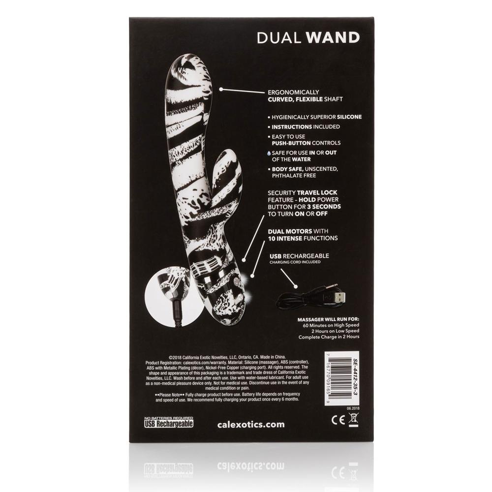 Stimulateur Rabbit Hype Dual Wand