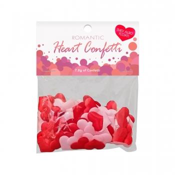Confettis Coeurs Romantic...