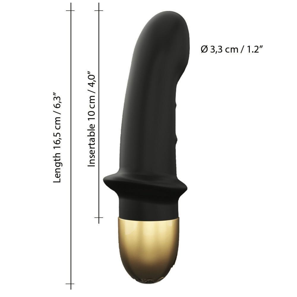Vibromasseur Mini Lover Rechargeable Black & Gold Edition