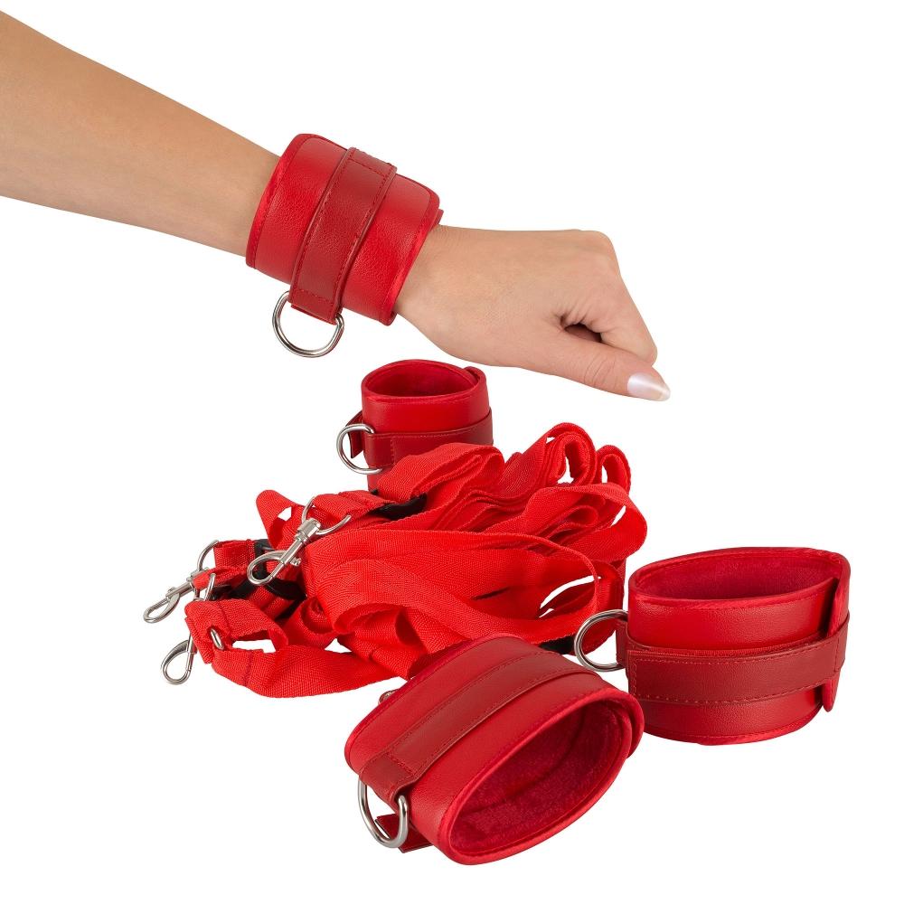 Kit d'Attaches de Lit Rouge