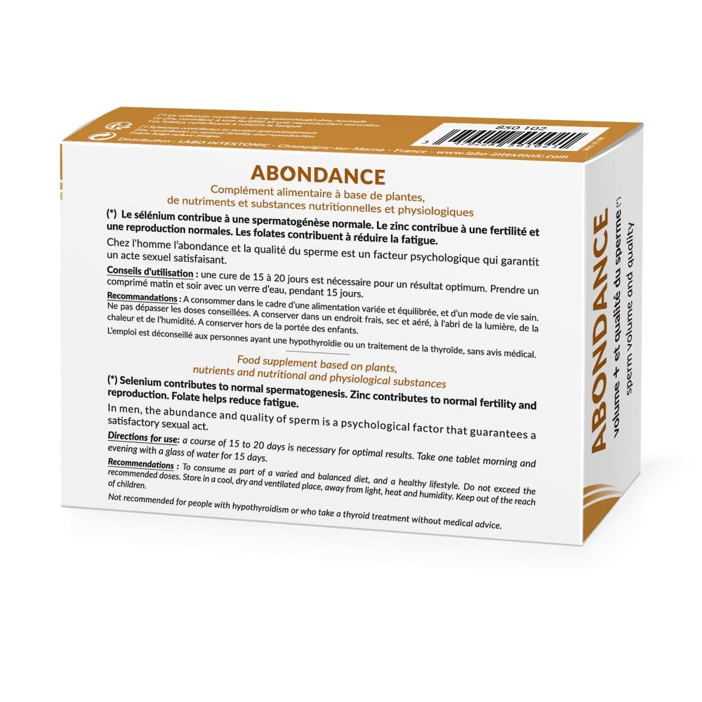 Aphrodisiaque Abondance 30 Comprimés