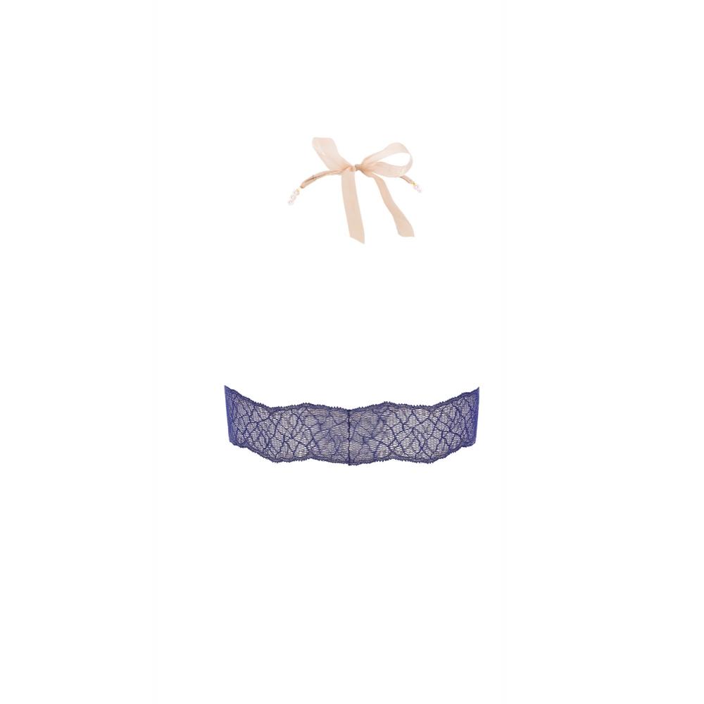Bralette à Perles Sydney Bleue