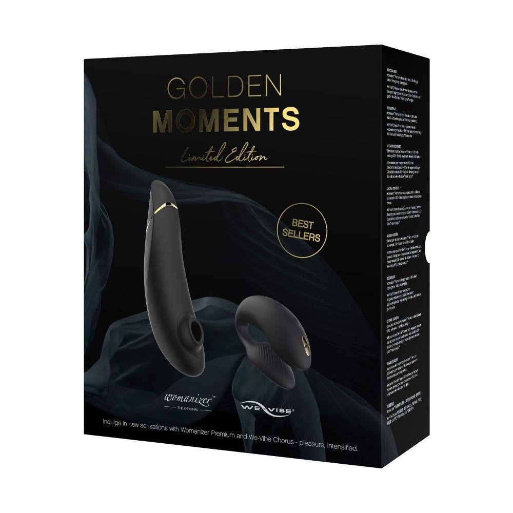 Coffret Golden Moments Womanizer & We-Vibe Édition Limitée