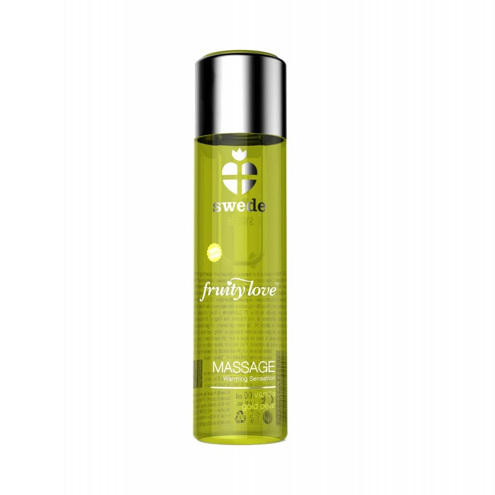 Gel de Massage Chauffant Fruity Love Vanille & Poire 120 ml