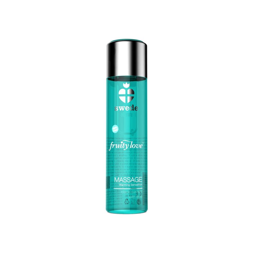 Gel de Massage Chauffant Fruity Love Cassis & Citron Vert 60 ml