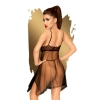 Nuisette Babydoll Naughty Doll Noire