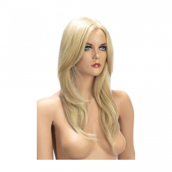 Perruque Longue Olivia Blonde