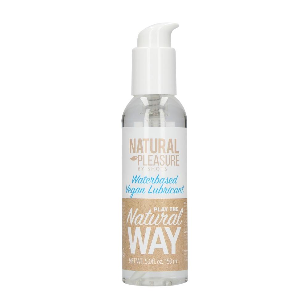 Lubrifiant Eau Vegan Natural Pleasure 150 ml