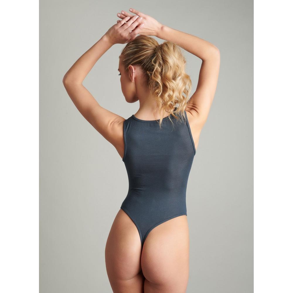 Body String La Femme Amazone Gris Foncé