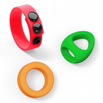 Kit de 3 Cockrings Neon Ring