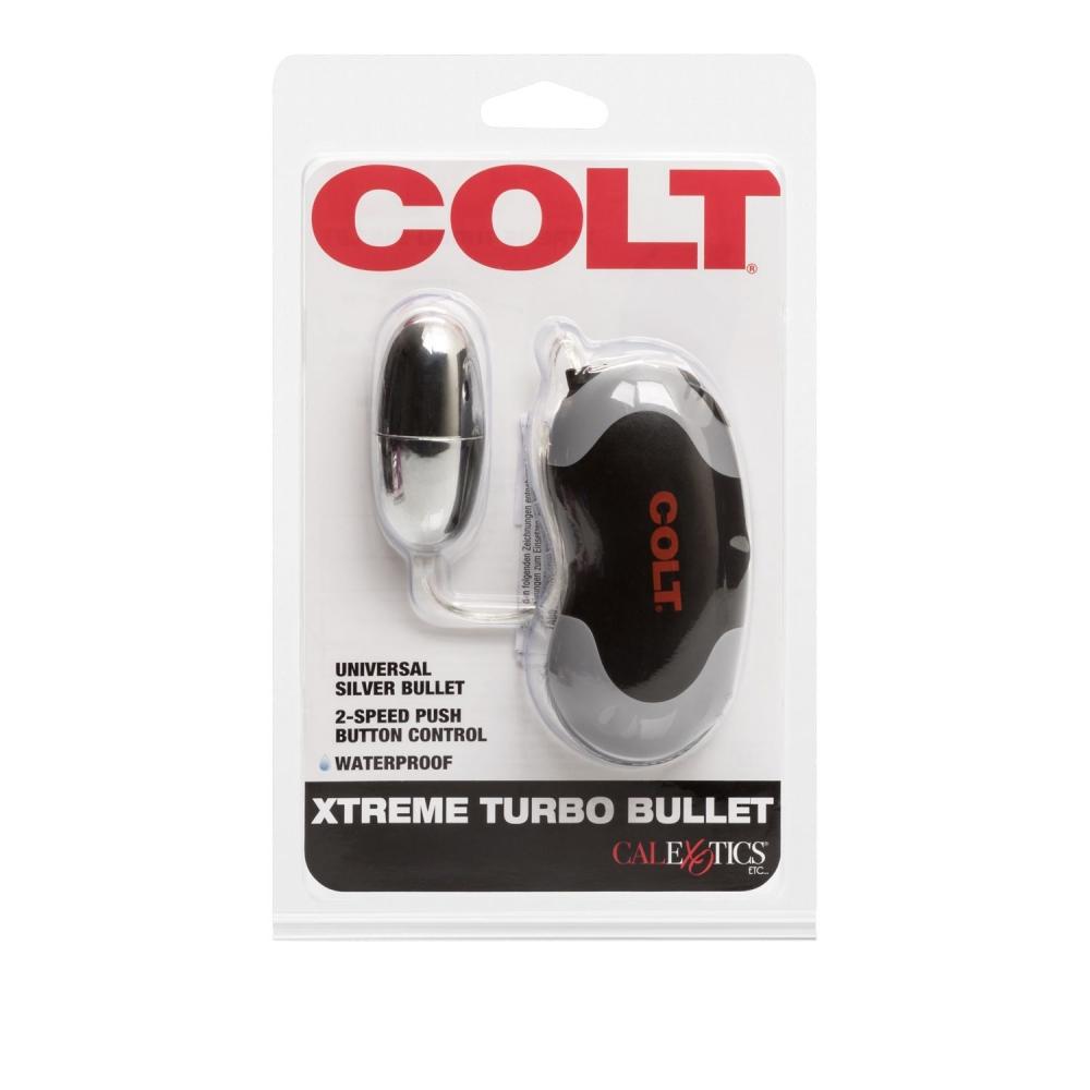 Stimulateur Vaginal & Anal Xtreme Turbo Bullet