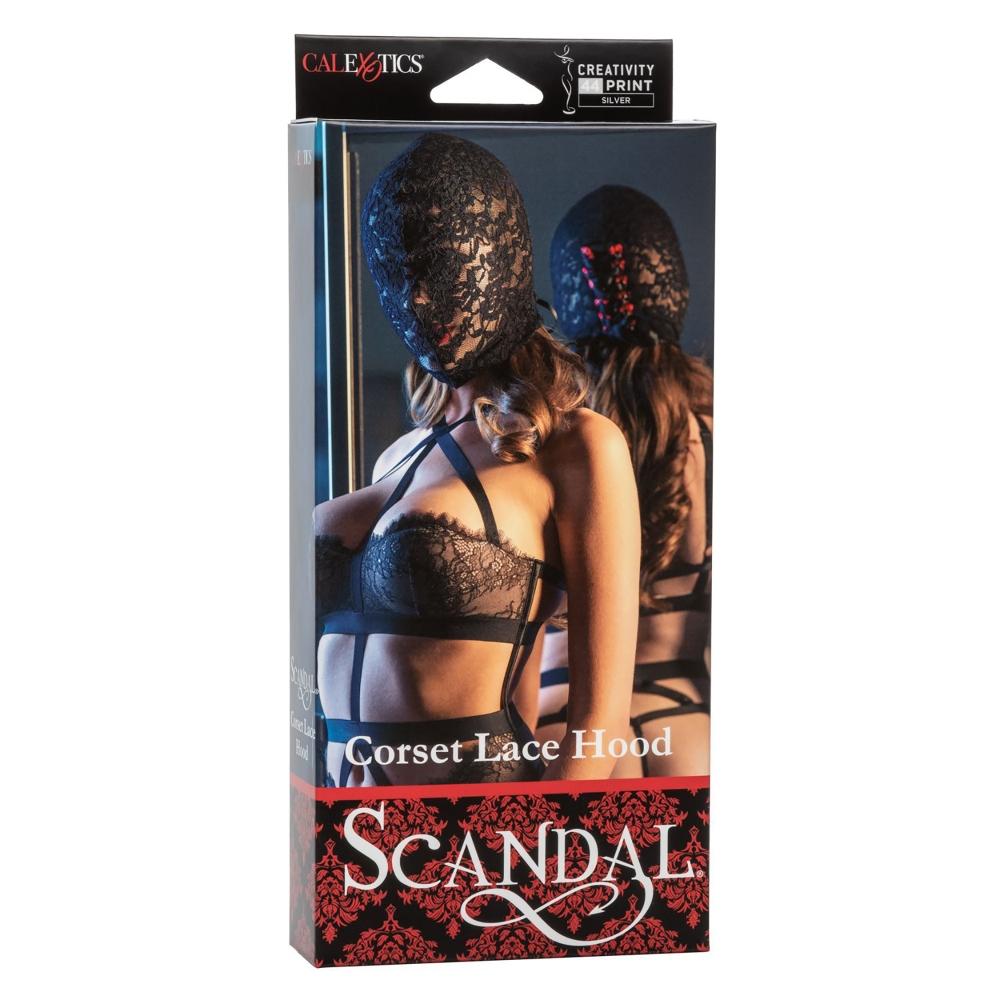 Cagoule Scandal Corset Lace Hood