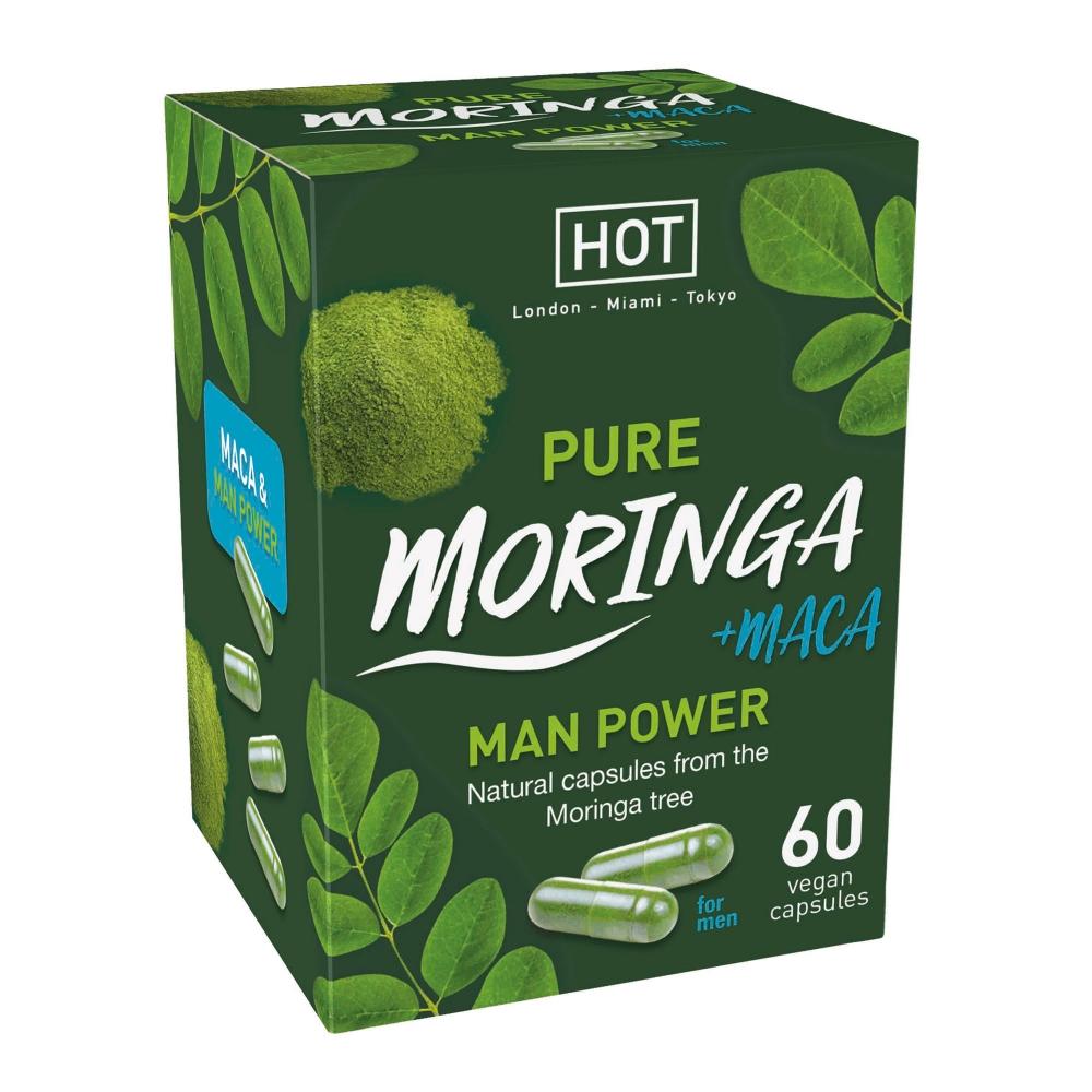 Aphrodisiaque pour Homme Moringa Man Power