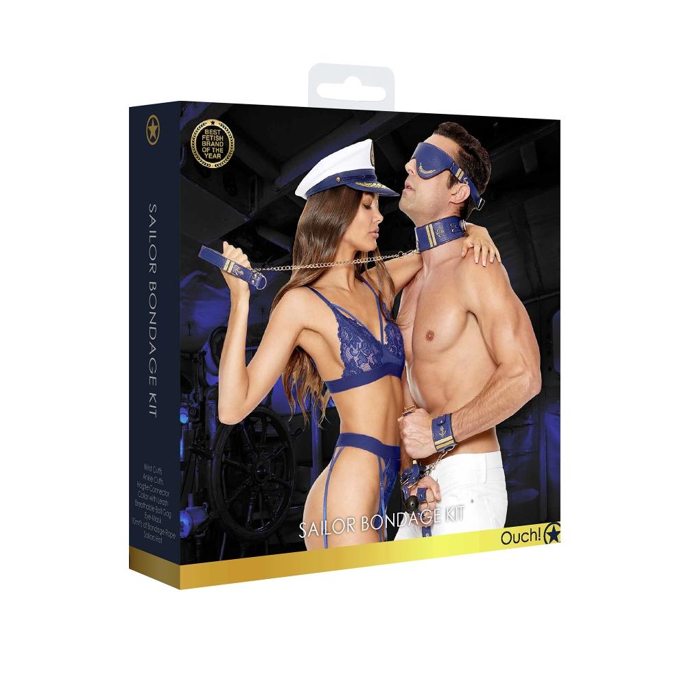 Kit Bondage Sailor 9 Pièces