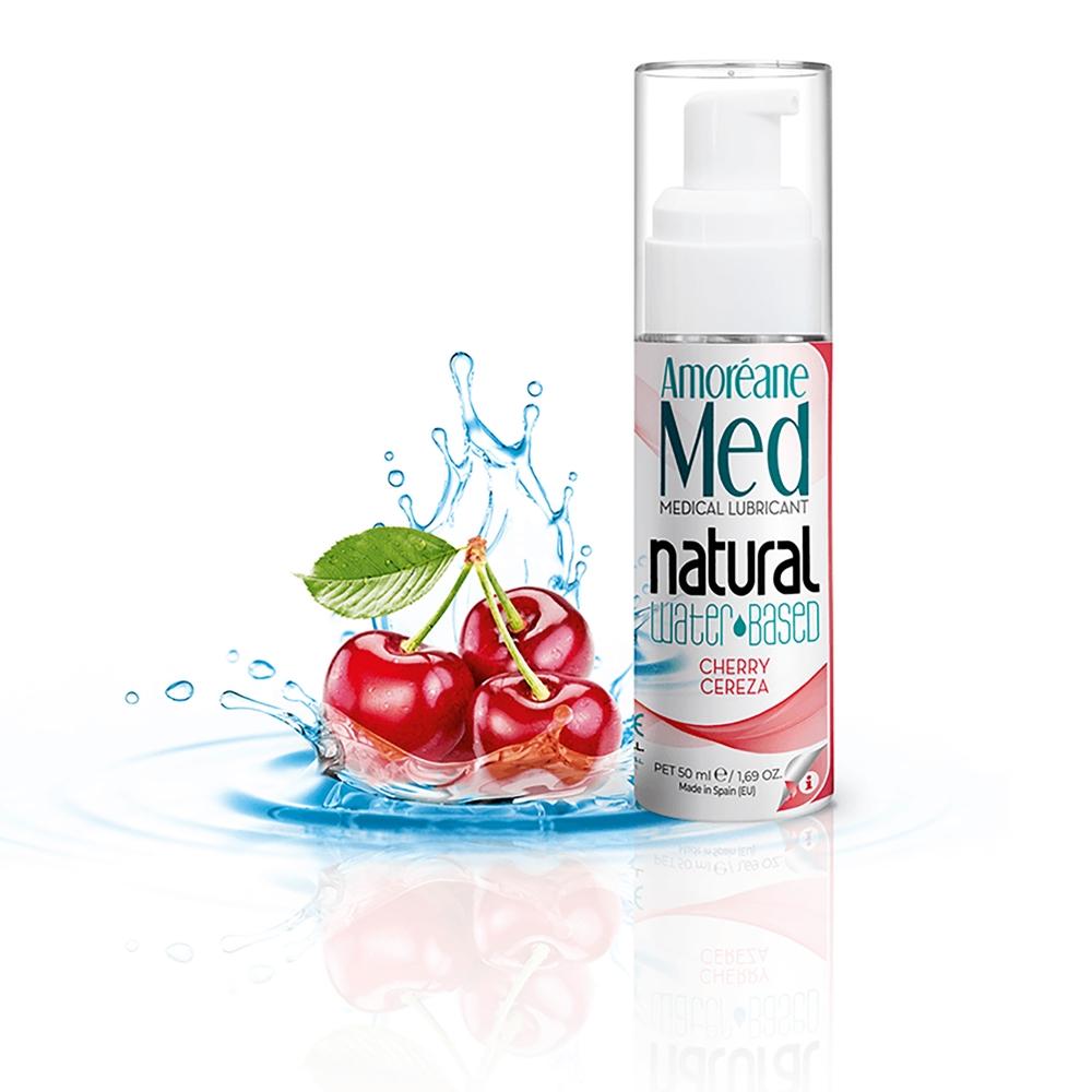 Lubrifiant Eau Naturel Cerise Phytoplancton 50 ml