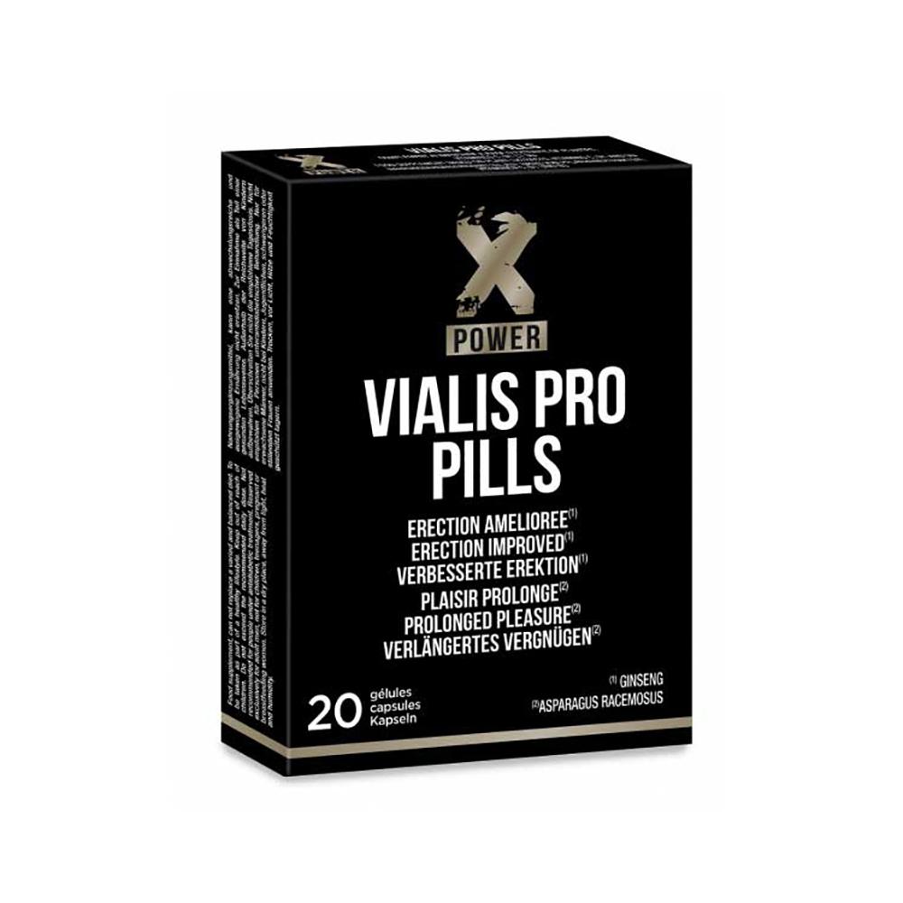 Stimulant Sexuel Vialis Pro Pills XPOWER 20 Gélules